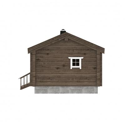 UAB Log Villa 25 m2 rąstinis namas