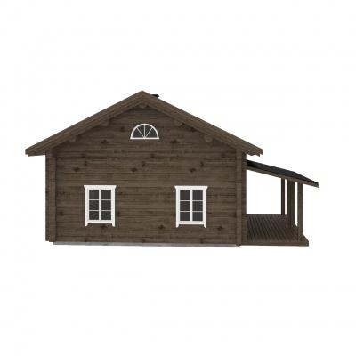 UAB Log Villa 103 m2 Rąstinis namas